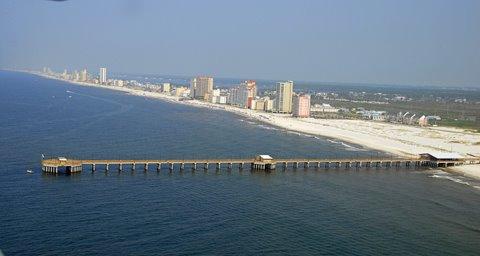 Sugar beach condo assoc for Gulf shores fishing pier