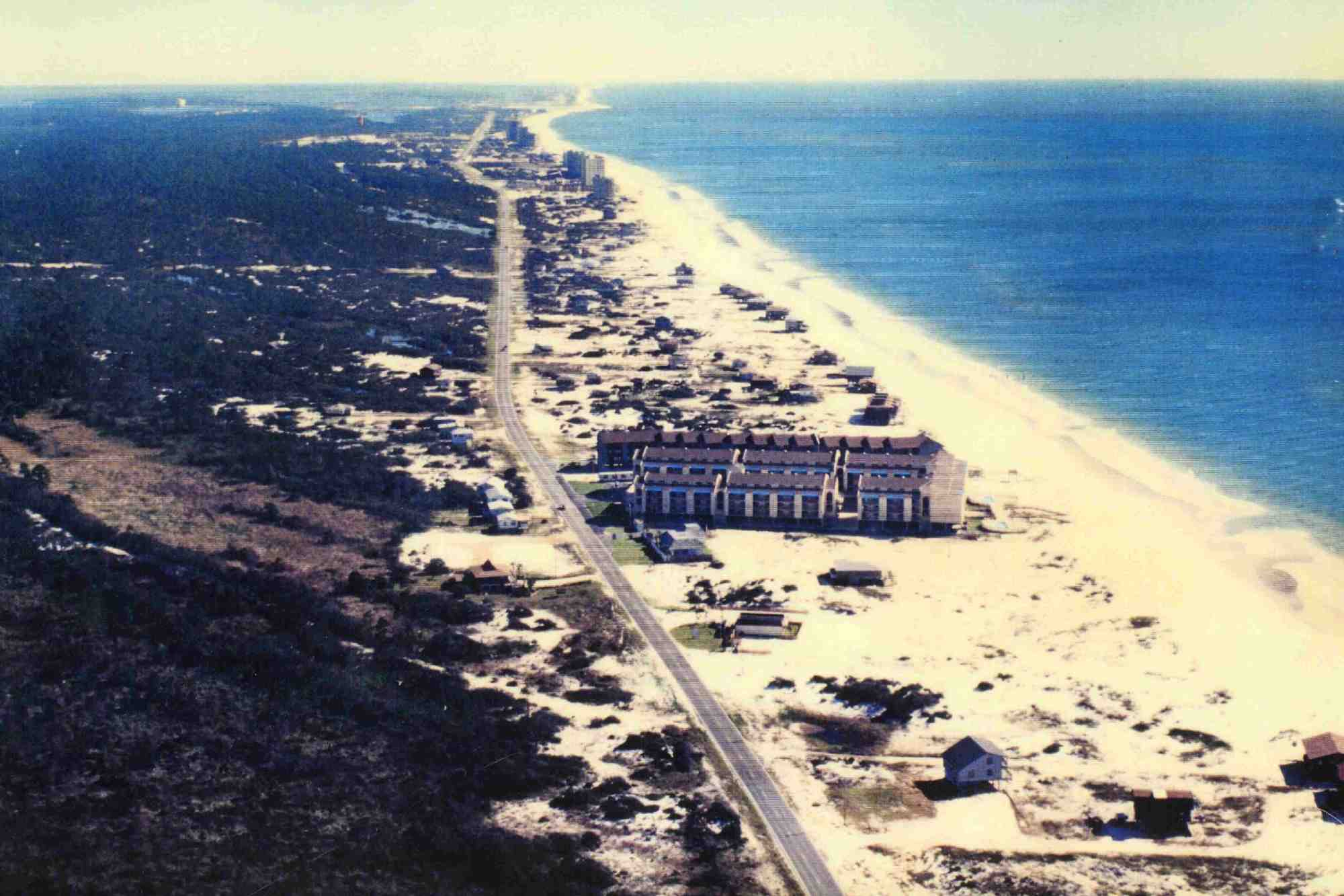 Picture of Sugar Beach in the early